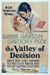 The Valley of Decision 1945 DVD - Greer Garson / Gregory Peck